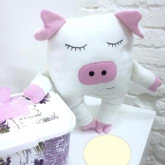 поросенок-подушка обнимашка-игрушка сплюшка-подарки на Николая-новогодние подарки детям