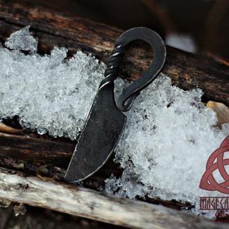 Кованый нож Кулон на шею Нож