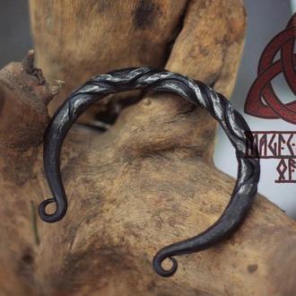 Браслет викингов Кованый браслет викингов