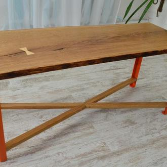 Эксклюзивный кофейный столик из дуба
