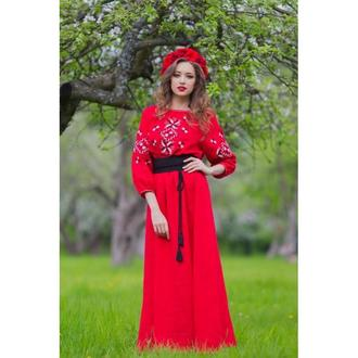 Украинские этнические платья  купить платье с вышивкой de4ac4c241e5d