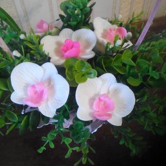Мыльный букет Орхидей