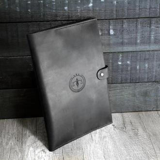"""Кожаная папка для документов А4 """"Фемида"""" - Подарок Юристу. Стильный органайзер из натуральной кожи"""