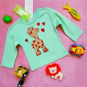 Детская кофта с росписью