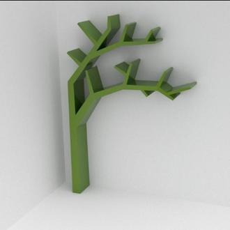полка в виде дерева