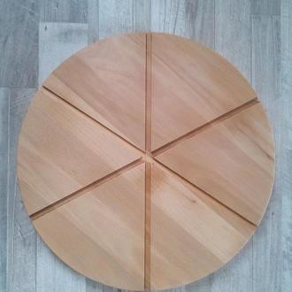 Доска для пиццы на 6 делений