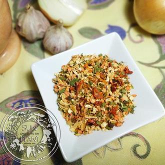Овочева приправа, сухі овочі, 30г. Овощи, овощная приправа