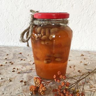 Варенье абрикосовое с арахисом, 480г