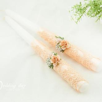 Венчальные свечи / Свічі для весілля / Вінчальні свічки / Класика / Для свадьбы