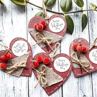 Валентинка-открытка на Святого Валентина