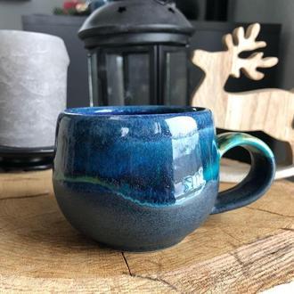 Небольшая керамическая чашка. 200 мл.