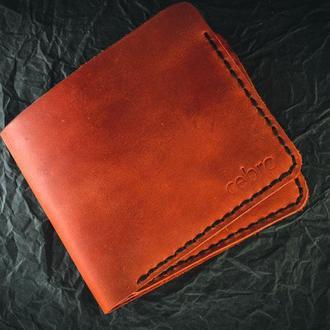 Червоний гаманець на 2 карти