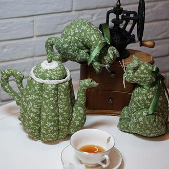 Текстильный чайник Утренний кофе