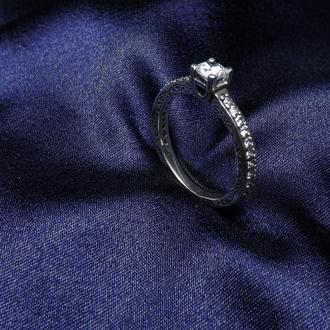 Кольцо, серебро, подарок девушке, любимой