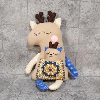 Мягкая игрушка олень