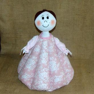 Интерьерная кукла ФЕОДОРА - баба-грелка для чайника