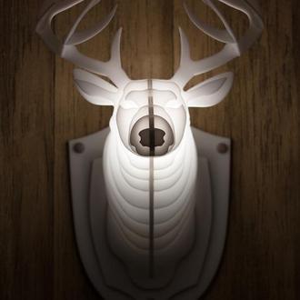 Светильник голова оленя (head of a deer lamp) БРА