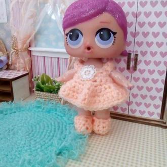 Платье для кукол Лол. Одежда для кукол Лол.
