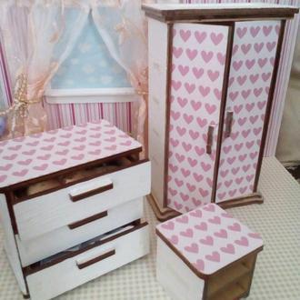 Мебель для кукольного домика Лол.