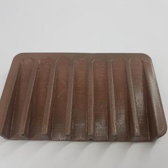 Бетонная мыльница,  в стиле Loft - коричневая