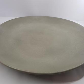 Тарелка из бетона, в стиле Loft, d - 27 см