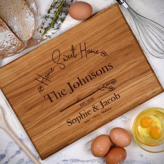 Кухонная доска, разделочная доска, подарочная кухонная доска