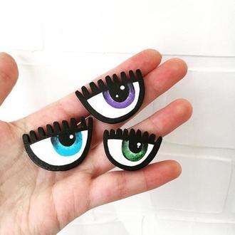 Брошь глаз
