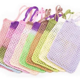 Вязанная сумка-планшетка