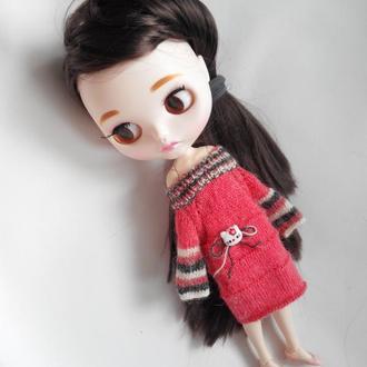 """Платье """"Kitty"""" для куклы Блайз, Айси"""