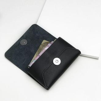 • Кожаный кошелек • Шкіряний гаманець •