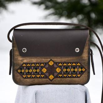 """Жіноча дерев'яна сумочка """"Sofi"""""""