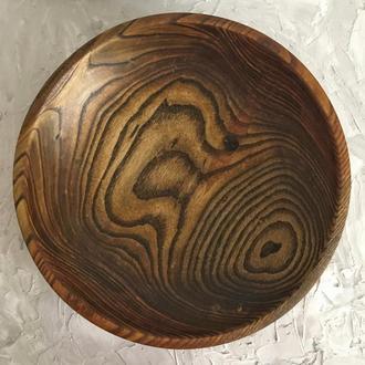 Фруктовниця з дерева, декоративна тарілка, цукерниця