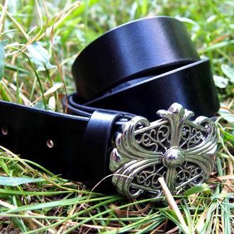 Мужской ремень, черный кожаный ремень, черный ремень