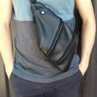Мужская сумка-кобура (мессенджер). Подарок к 14 февраля, Валентина