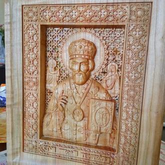 Святий Миколай (віск)