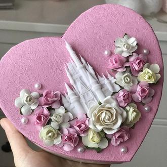 Сердечко-валентинка 100 причин чому кохаю