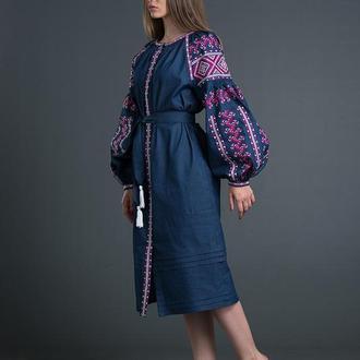 """Дизайнерська вишита сукня """"Ламана Гілка"""""""