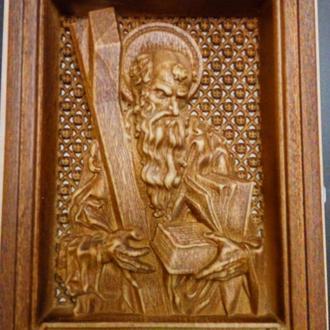 Святий Андрій, палісандр, лак