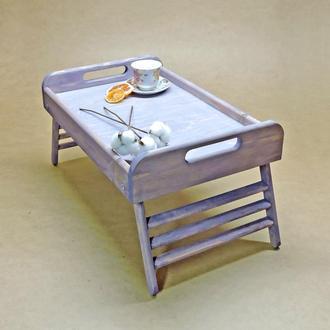 Столик-поднос с ручками Вермонт Делюкс маджента