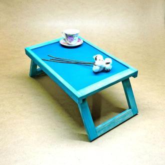 Столик-поднос для завтрака Невада лазурь