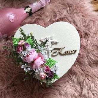 Коробка-валентинка з висловами про кохання