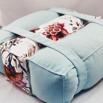 Подушка прямоугольная 3шт. Диванная подушка, валик, кирпичики, трансформер. Декоративная подушка.