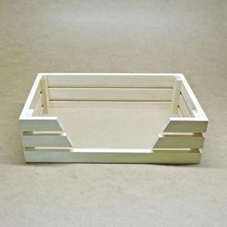 Лежак деревянный для собаки Лессер 50х40 бланже