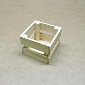 Короб для хранения Милена 125х125мм бланже