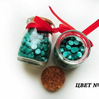 Сургуч порционный ( таблетки) в декоративной бутылочке