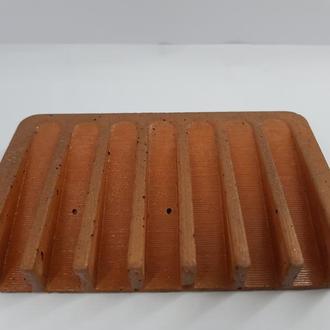 Бетонная мыльница, в стиле Loft - оранжевая