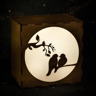 """Светильник, LightBox , ночник """"Любовь  """""""