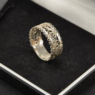 Кольцо обручик