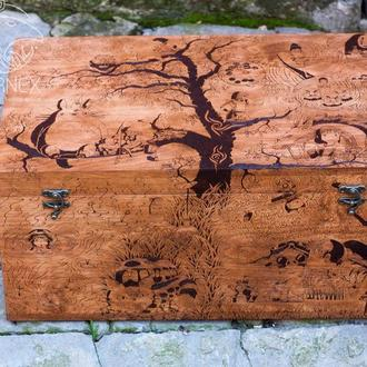 "Деревянный сундук ""Ghibli"""