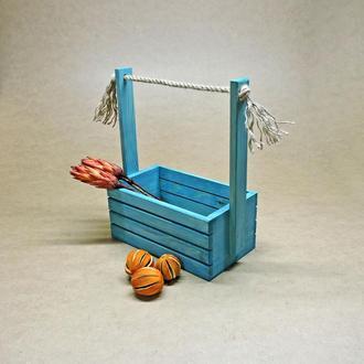 Подарочная корзинка Бейкер лазурь